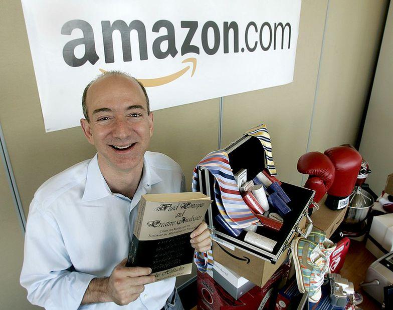 Jeff Bezos, wizjoner, prezes Amazona