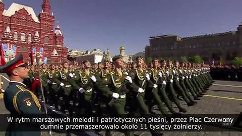 Rosja uczciła Dzień Zwycięstwa pokazem swojej militarnej potęgi