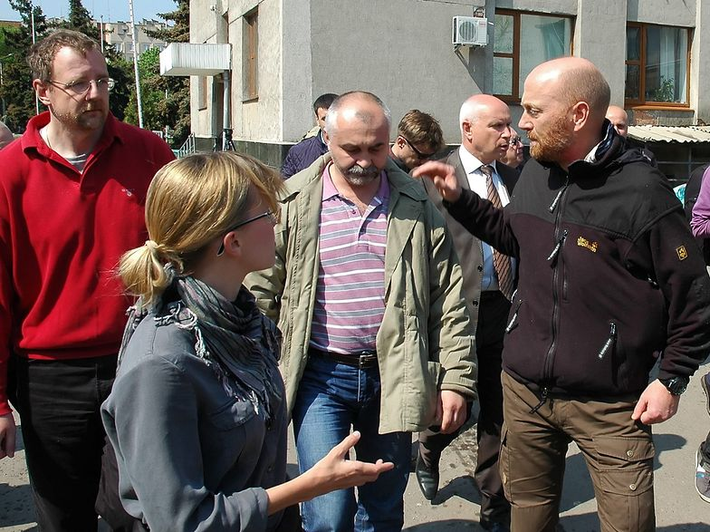 Uwolnieni obserwatorzy OBWE są już w Doniecku