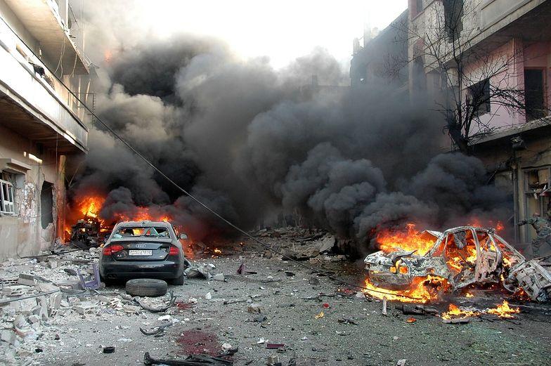 Wojna domowa w Syrii. Atak chemiczny w środkowej części kraju