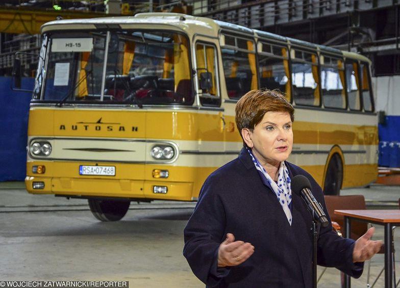Premier Beata Szydło zażądała wyjaśnień w sprawie Autosana. Sytuację sprawdzi Henryk Kowalczyk