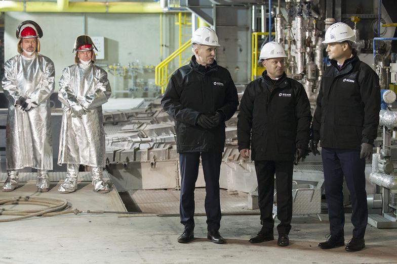 Największy piec zawiesinowy na świecie w Hucie Głogów. Prezes KGHM: rozpoczynamy nową erę