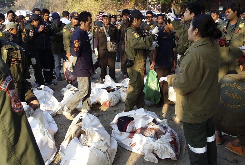 Tajlandia: Co najmniej 29 osób zginęło w wypadku autobusowym