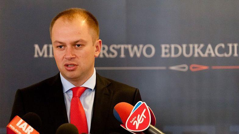 Wiceminister edukacji Maciej Jakubowski