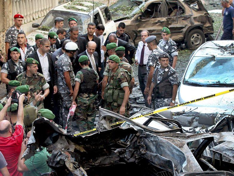 Zamach w Libanie. Dramatycznie rośnie liczba ofiar