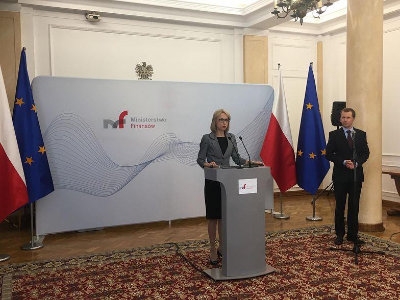 Minister Teresa Czerwińska zdradziła szczegóły Nowej Ordynacji Podatkowej podczas konferencji