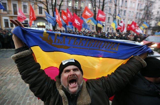 Majdan zakazał Janukowyczowi podpisania umowy o Unii z Rosją