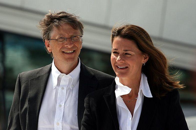 Bill Gates z żoną Melindą