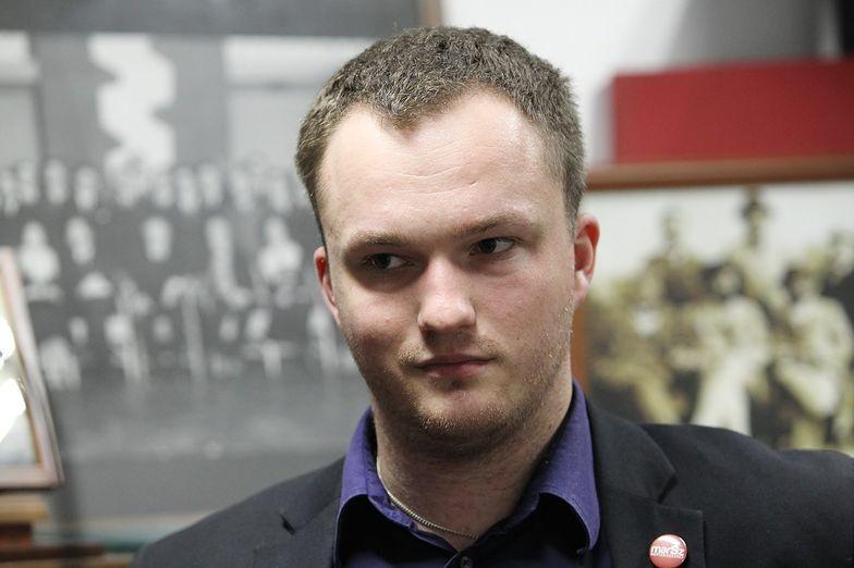 Prezes stowarzyszenia Marsz Niepodległości Witold Tumanowicz.