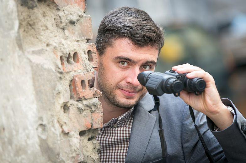 Paweł Wujcikowski, właściciel  sieci Spy Shop