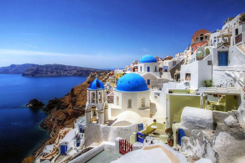 wyspa Santorini nie jest na sprzedaż