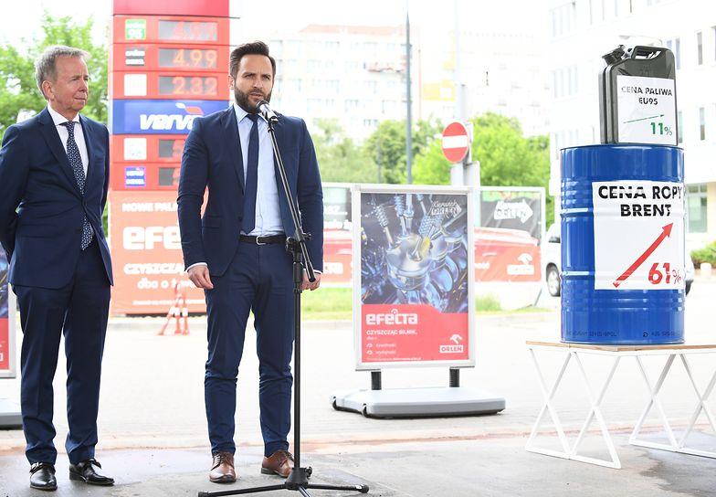 Orlen odpowiada na spekulacje dotyczące ceny benzyny