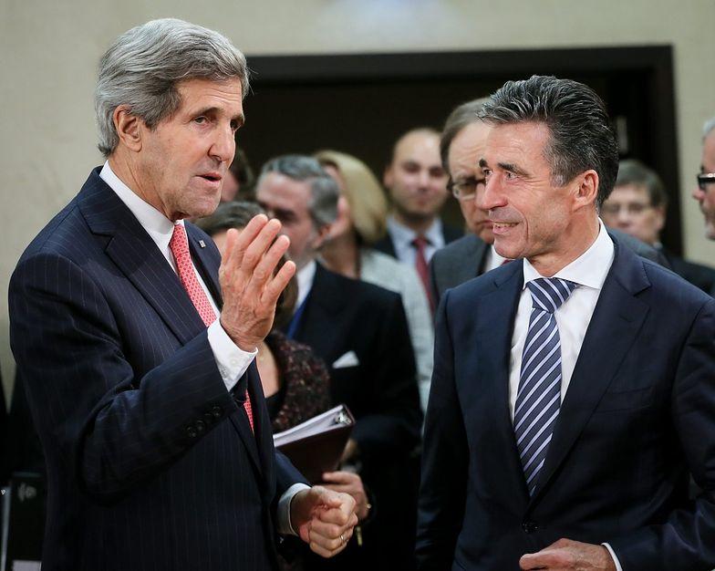 NATO potępia władze na Ukrainie