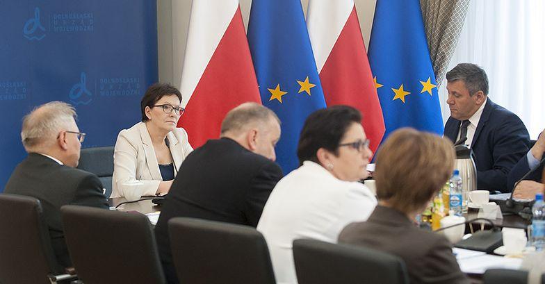2015.07.28 Wrocław. Posiedzenie rządu na Dolnym Śląsku.