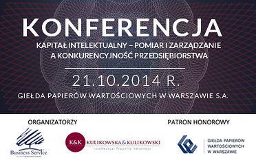 """Konferencja """"Kapitał Intelektualny"""" już 21 października"""