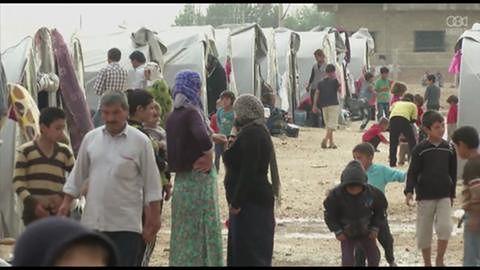 Kurdyjscy bojownicy walczą o utrzymanie obleganego przez dżihadystów miasta