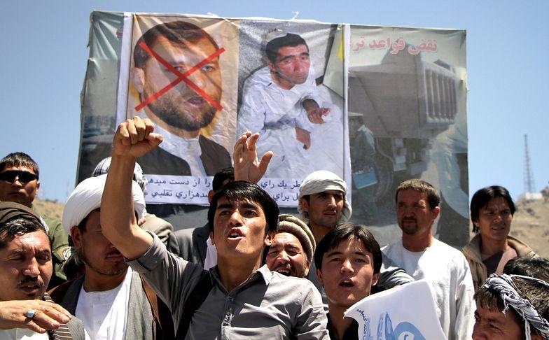 Wybory prezydenckie w Afganistanie. Protest przeciw manipulowaniu wynikiem