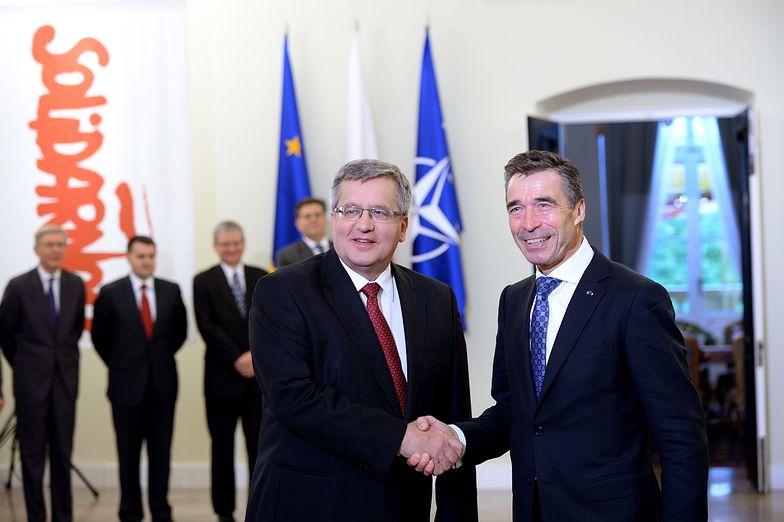 Rasmussen dziękuje Polsce za Afganistan