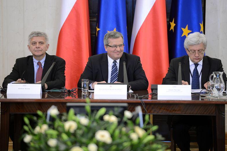 Prezydent debatuje o wejściu do strefy euro