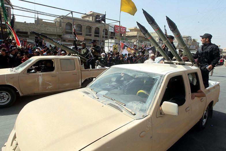 Rebelia w Iraku. Prorządowe bojówki demonstrują siłę