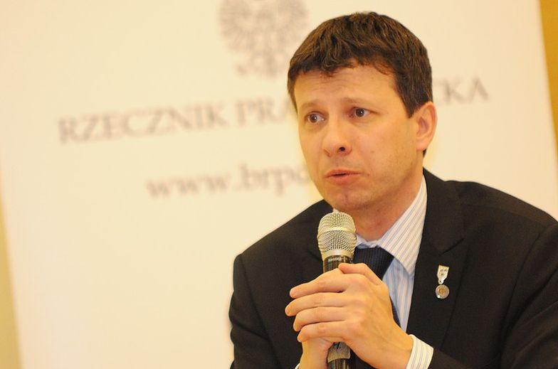Na zdj. rzecznik praw dziecka Marek Michalak