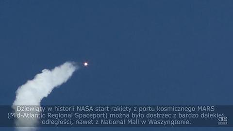 Naukowcy wysłali na Międzynarodową Stację Kosmiczną pierwszą misję z zaopatrzeniem