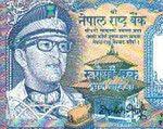 Król Nepalu zniknął z banknotu