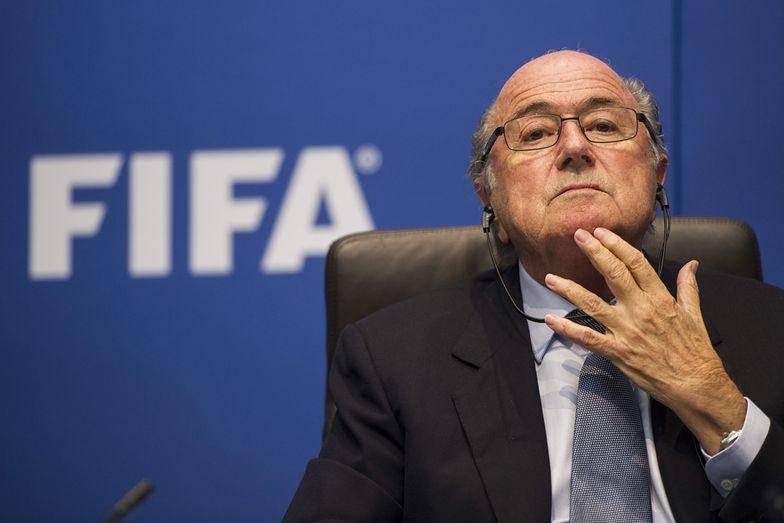 Na zdjęciu przewodniczący FIFA Sepp Blatter