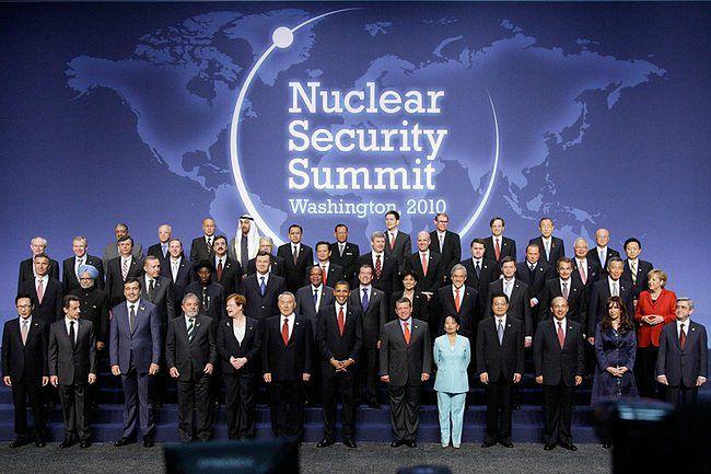 Szczyty bezpieczeństwa nuklearnego zainicjował w 2010 roku Barack Obama</br>
