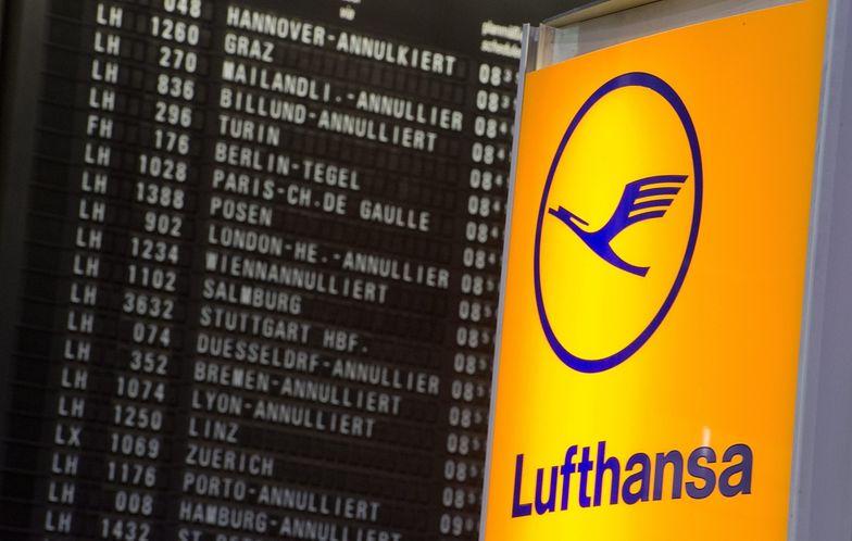 Wielki strajk pilotów Lufthansy. 3,8 tys. lotów odwołanych