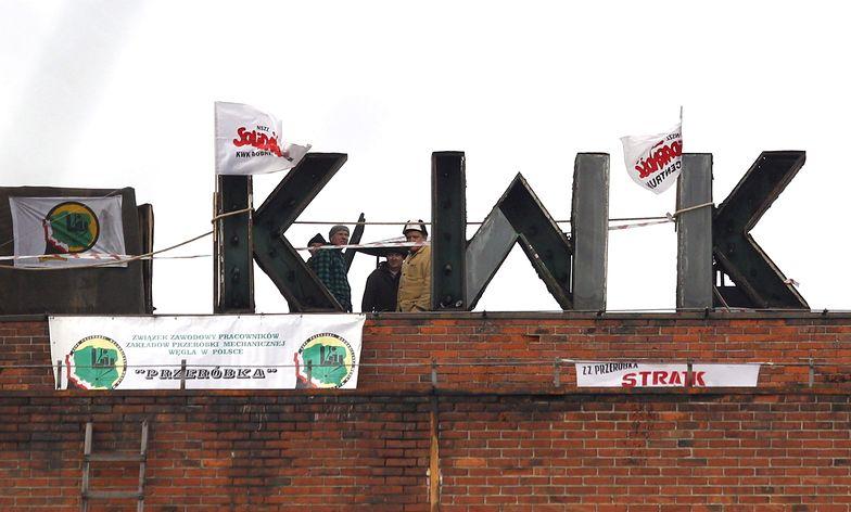 Protest górników. Nie tylko im nie podoba się plan naprawczy KW