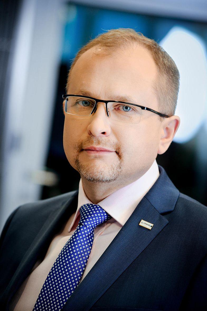 Konrad Kąkolewski, prezes GetBack liczy na dofinansowanie