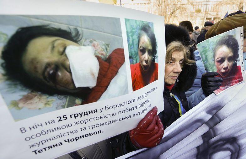 Ukraina: Milicja wskazuje winnych pobicia dziennikarki