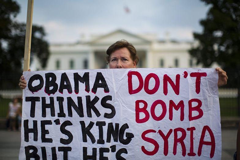 Interwencja w Syrii. W USA protestują