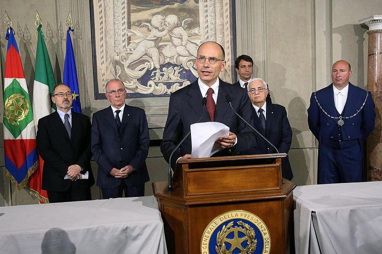 Premier Włoch w expose: Przede wszystkim gospodarka