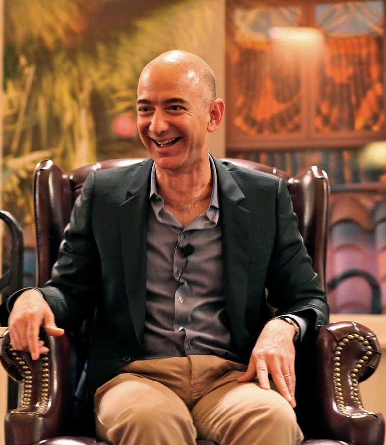 Jeff Bezos, założyciel Amazona,<br> wszedł w biznes afiliacyjny dzięki książkom o rozwodach<br>