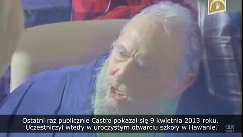Były prezydent Kuby Fidel Castro niespodziewanie pojawił się publicznie