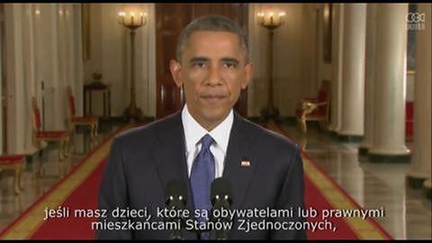 Obama ogłasza reformę prawa imigracyjnego