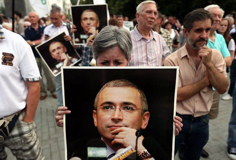Opozycja w Rosji domagała się uwolnienia Chodorkowskiego