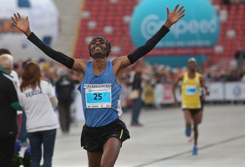 Maraton Warszawski wygrał Polak etiopskiego pochodzenia