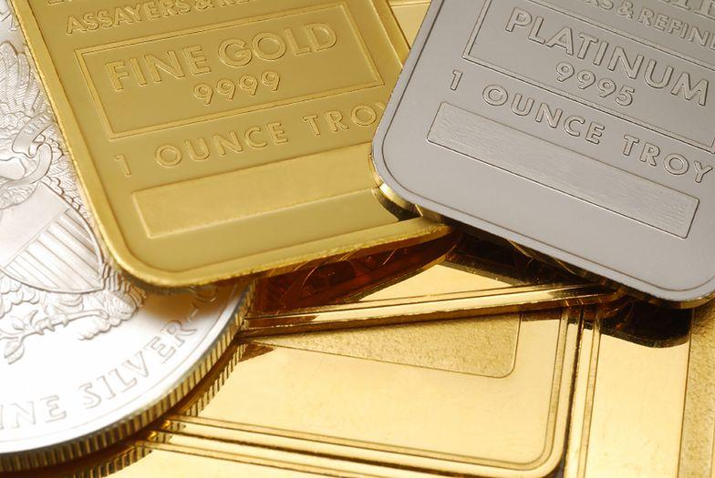 Sztabki złota - chcesz kupić? Musisz podać PESEL