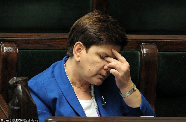 Beata Szydło otworzyła nieukończoną inwestycję. Internauci są bezlitośni