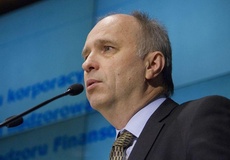 Andrzej Jakubiak, przewodniczacy KNF <br>