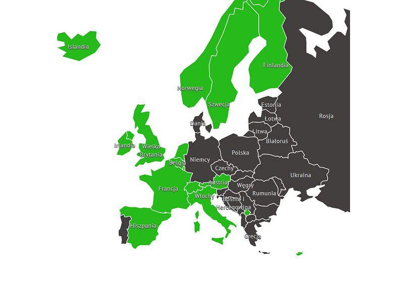 Francja, Hiszpania i Wielka Brytania mogą się pochwalić