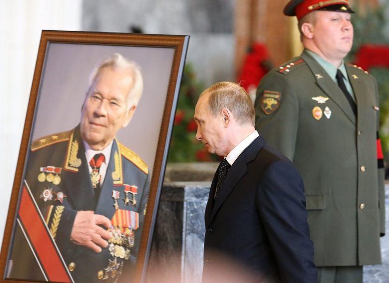 Kałasznikow spoczął w panteonie pod Moskwą