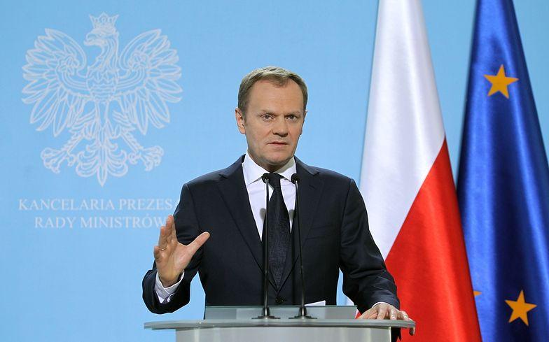 Tusk: Zawieszamy ratyfikację ACTA