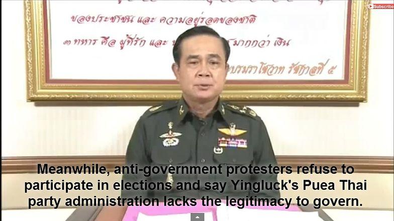 Tajlandia na skraju wojny domowej. Armia wprowadziła stan wojenny