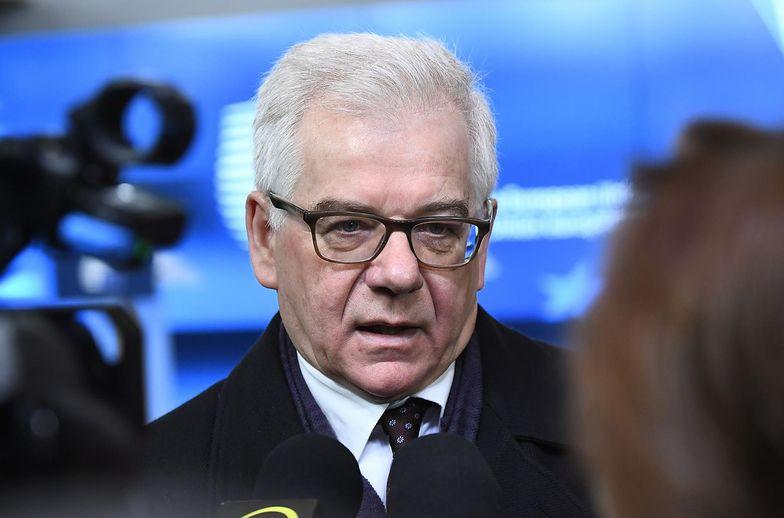 Jacek Czaputowicz spotkał się z komisarzem Fransem Timmermansem, odpowiedzialnym za prowadzoną wobec Polski procedurę ochrony praworządności. Jego poprzednik Witold Waszczykowski unikał tego przez pół roku.