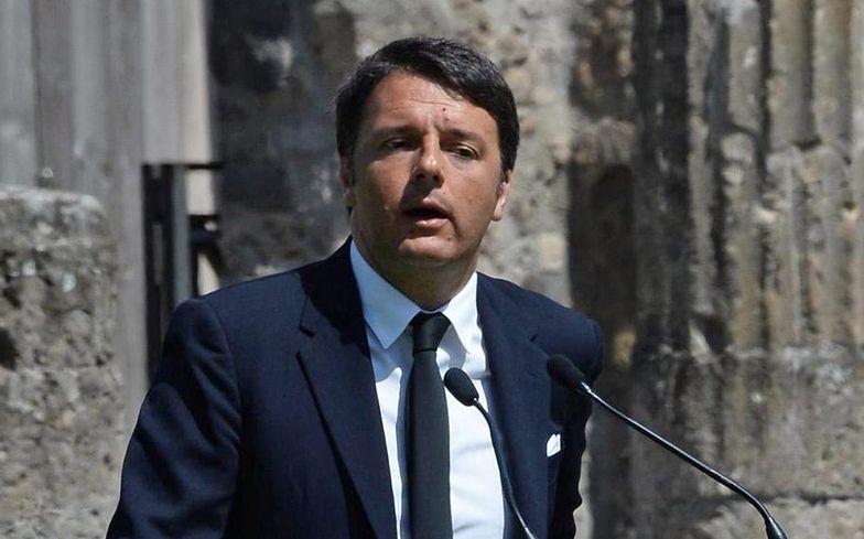 Wypadek łodzi z imigrantami. Premier Włoch prosi o nadzwyczajny szczyt UE