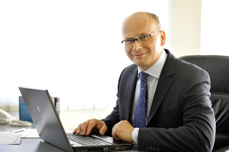 Jacek Kujawa, prezes CUBE.ITG